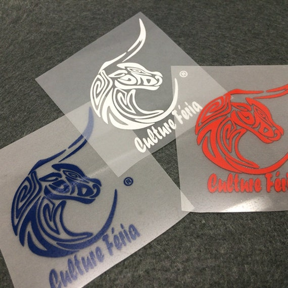 20 Sheets Custom Plastisol Heat Transfer Labels Heat