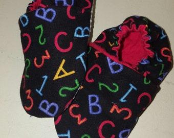 ABC123 Soft Sole Shoe