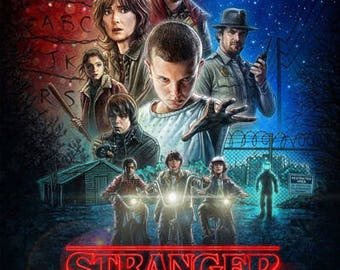 Stranger Things, poster Movie Print 11x17 Movie Poster - Style A