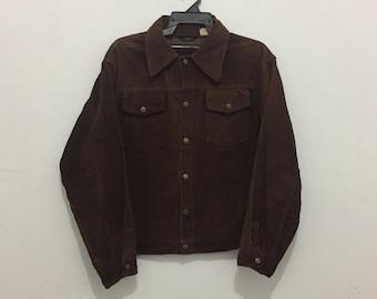 Rare!!Vintage 60-70s big smith jacket union made size 44
