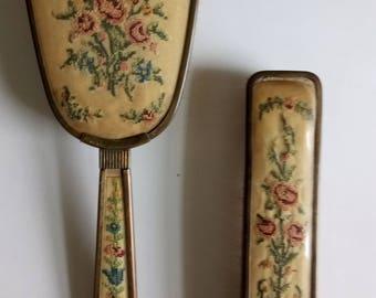 Antique Brushes Set Of 2 Antique Brushes