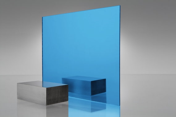 Acrylic Light Blue Mirror 2069 Plexiglass 6 Quot X 12 Quot 1 8