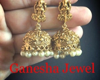 Indian Earings Murti Jhumka