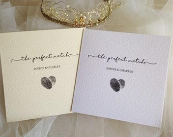 Perfect Match Wedding Invitations - SAMPLE