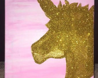 Unicorn wall painting!