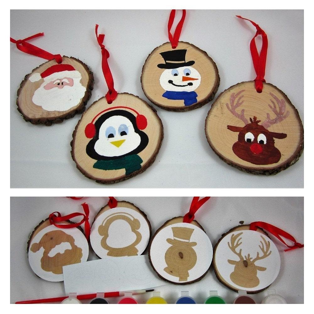 Christmas ornament craft kit - Diy Christmas Craft Project Diy Christmas Ornament Craft Kit Gift Tag Craft Kit