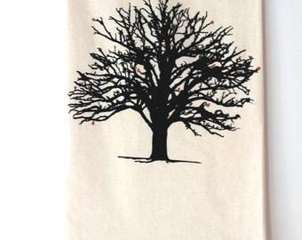Tea Towel; Hope Tree Towel; Inspirational gift; Flour sack; Tea Towel; Kitchen towel; Dish towel by Turquoise Bike or Turquoisebike