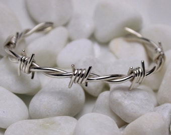 Barbed wire bracelet small size