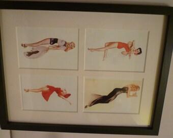 Alberto Vargas 4 prints