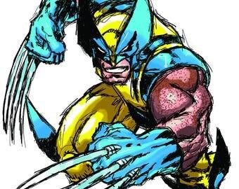 Wolverine Photoshop Sketch