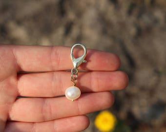 White Pearl Bridle Charm