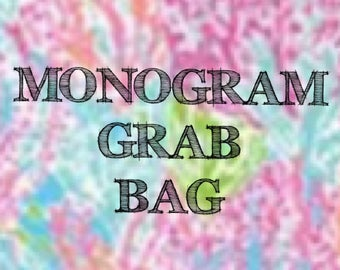Monogram Grab bag