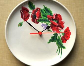 Hand painted ceramic watch