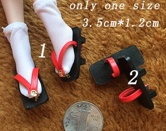 1/6 scale shoes geta for phicen verycool playtoys [only geta]