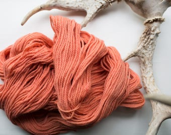 Naturally Dyed Bluefaced Leicester {Worsted Weight Yarn}
