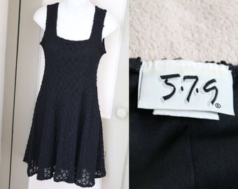 Perfect 90s Little Black Dress 579 LBD 5*7*9