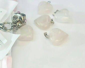 ADD-ON: rose quartz charm