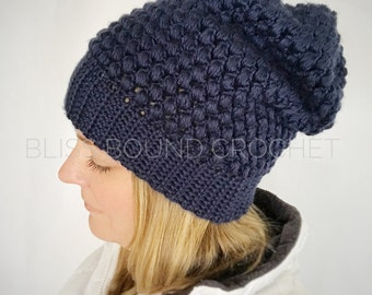 Adult Slouchy Beanie//Slouchy Hat//