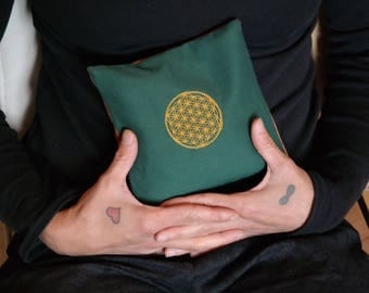 Heat pad with the flower of life rapids / cherry cores