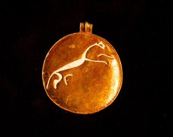 Celtic Pendant - Uffington white horse - X-13