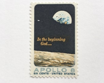 Image result for apollo 8 stamp
