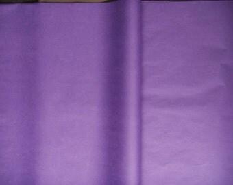 Set of 5 sheets paper silk color Lavender size 50 cm * 75 cm