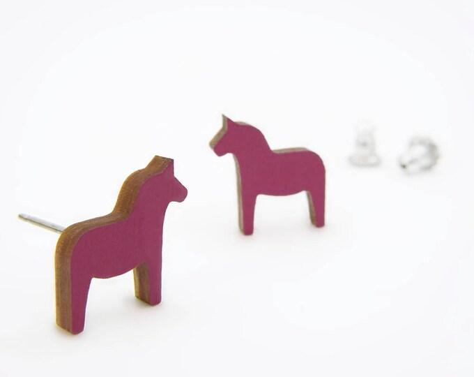 Dala Pferd Earrings