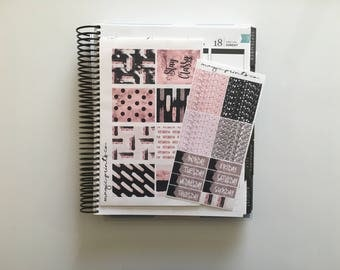 Stay Classy Weekly Planner Sticker Kit!