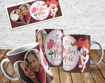 Mother's Day Mug Digital Template 002