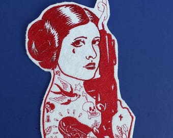 Star Wars patch, Princess Leia patch
