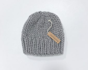 Non-slouch knit toque - adult