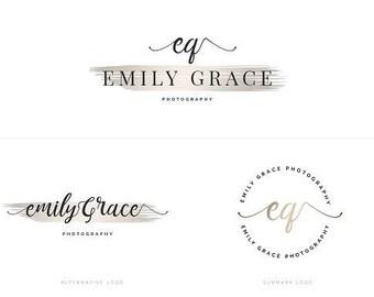 "Pre-designed logo ""Emily"". Limited Edition"