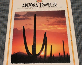 1993 - Arizona Traveler ~ Arizona Tourism ~ Arizona Highways ~ Grand Canyon Country ~ Majestic Mountains ~ Vintage Collectible ~