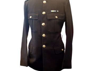 Royal Marines Dress NO.1 Man's Tunic/Jacket - British Army Military Uniform - Size 23 - E45