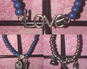 Various Love Bracelets