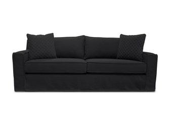 South Cone Home The William Slipcover Linen Sofa