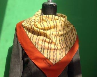 Trussardi Shawl. Vintage shawl | Vintage scarves | Trussardi scarf | Original Tang |