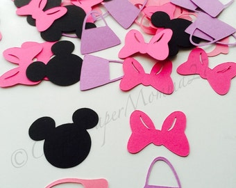 200pc Minnie Mouse Inspired Party Confetti