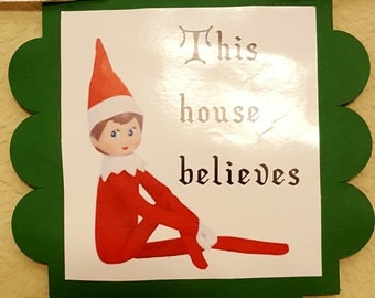 Elf on the Shelf banner