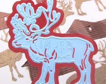 Template Cup reindeer - country of origin: China