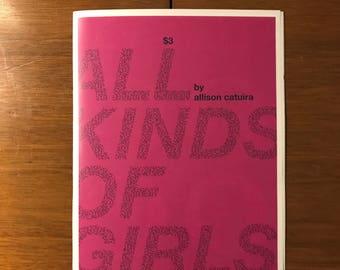 All Kinds of Girls, a portrait zine