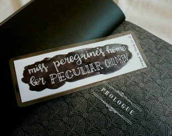 Miss Peregrine's Home for Peculiar Children bookmark