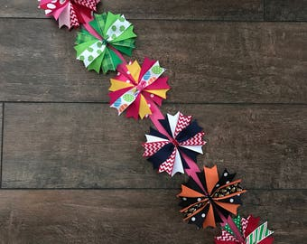 Spiked Bow Holiday 6 pack with Hanging Bow Organizer