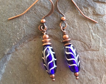 Waves of Blue Earrings