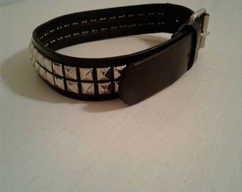 Black spike studded Collar/Choker