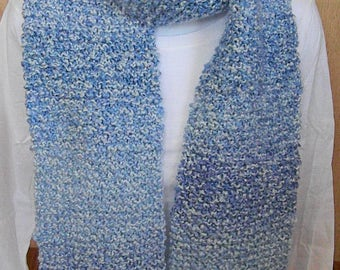 Knitted Scarves-Blue, Delft
