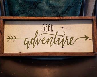 Seek Adventure, Outdoorsy, Hiking, Trail, Mountains