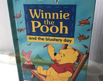Disney Winnie the Pooh and the Blustery Day Hardcover Autograph Book