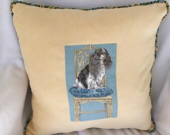 Spaniel pillow