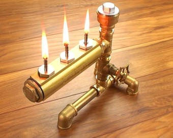 Steampunk oil lamp Industrial Lamp